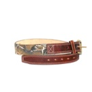 C00145 Men's Brighton 1 1/2in Brown Camouflage Belt