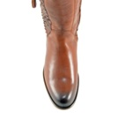 F1126 Women's Corral Honey Python Riding Boot