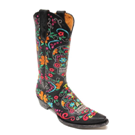 L1300-1 Women's Old Gringo Klak Black Boot
