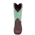 L2904 Women's Justin Gypsy Barnwood Brown Cow Roper Boot