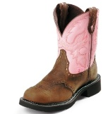 L9901 Women's Justin Gypsy Bay Apache Roper Boot