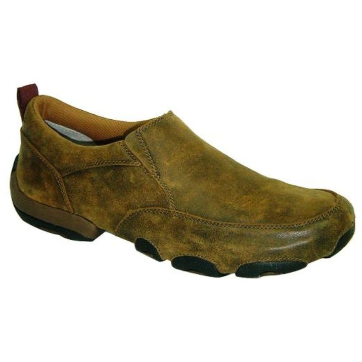 MDMS001 Men's Twisted X Driving Moc Slip-on Shoe