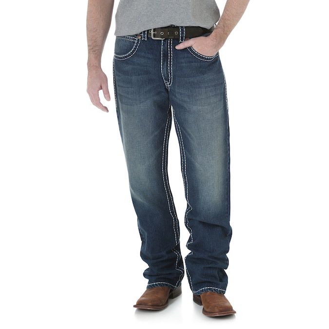 ea78cc2b MWR47EL Men's Wrangler Rock 47 Denim Jeans