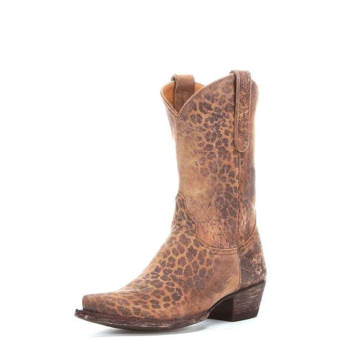 8bb84ef72d4 L168-1 Women's Old Gringo Leopardito Cowboy Boot