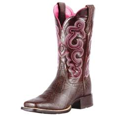 "10010942 Women's Ariat Quickdraw 11"" Roper Cowboy Boot"