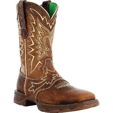 RD4424 Women's Durango Rebel Let Love Fly Square Toe Cowboy Boot