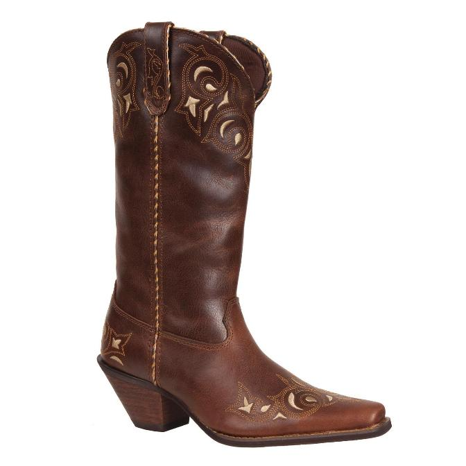 "RD5414 Women's Durango Crush 12"" Sew Sassy Cowboy Boot"
