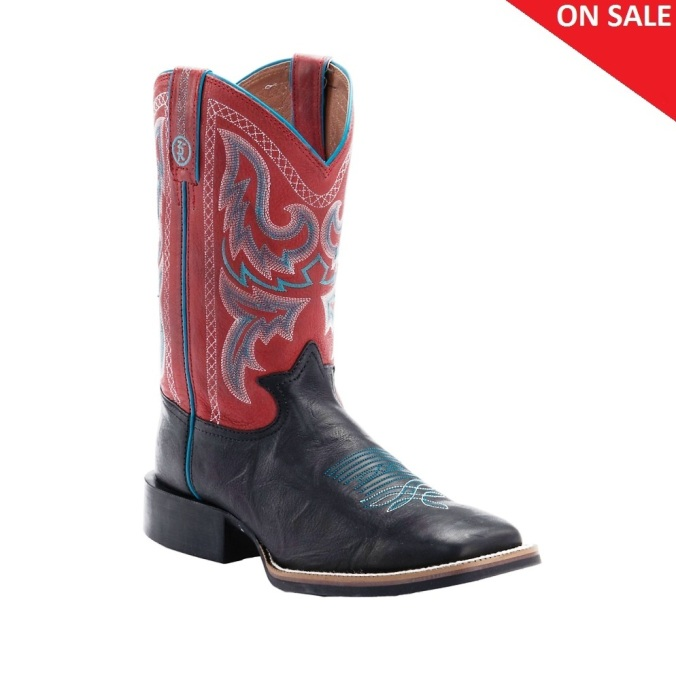 RR1115 Men's Tony Lama 3R Tan Square Toe Cowboy Boot
