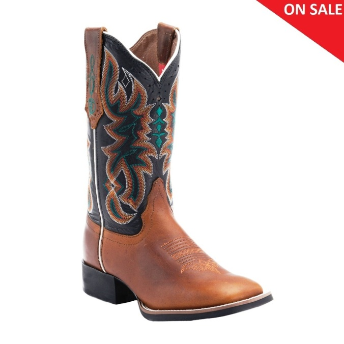 RR2116L Women's 3R Stockman Cowgirl Boots