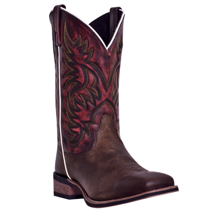 7865 Men's Dan Post Sheridan Square Toe Roper Cowboy Boot