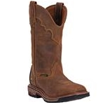 DP69402 Dan Post Men's Blayde Waterproof Work Roper with Square