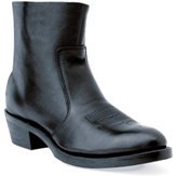 TR820 Men's Durango Black Leather Side Zip Cowboy Boot