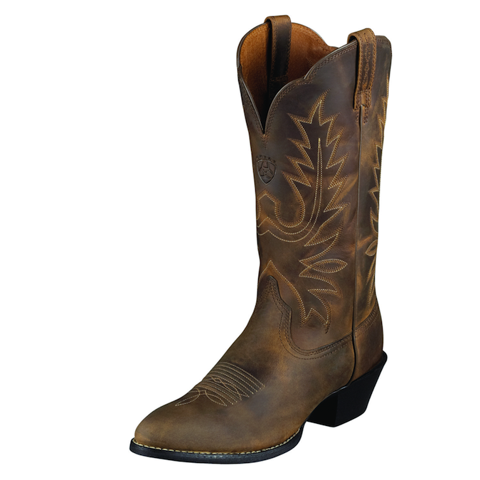10001021 Women's Ariat Heritage R-Toe Cowboy Boot
