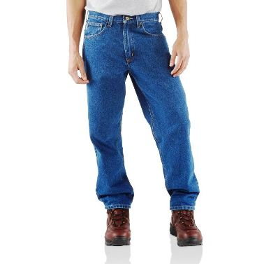 B17DST Men's Carhartt Darkstone Relaxed Fit Jeans
