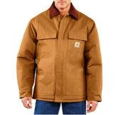 C03REG Men's Carhartt Duck Traditional Coat (Arctic Quilt-Lined)
