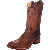 C2030 Men's Corral Distressed Goat Rancher Roper Cowboy Boot