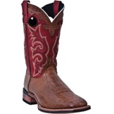 7885 Men's Laredo Chocolate Crocco Roper Cowboy Boot