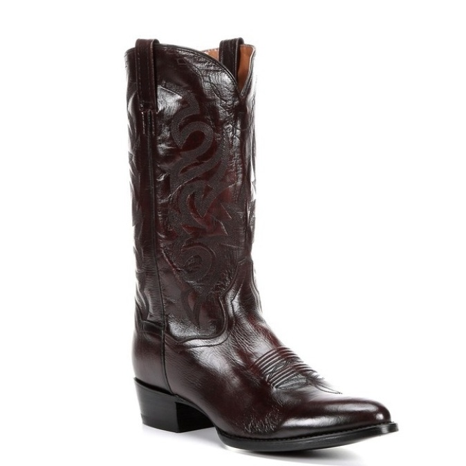 DP2112R Dan Post Milwaukee Black Cherry Cowboy Boot