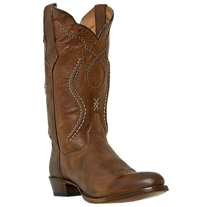 DP26686 Men's Dan Post Albany Rust Brown Cowboy Boot