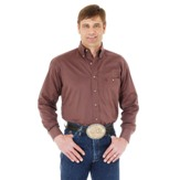 MGS55TN Men's Wrangler George Strait Button Down Long Sleeve