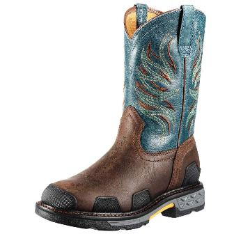 10010902 Men's Ariat Overdrive Western Pull-on Work Boot