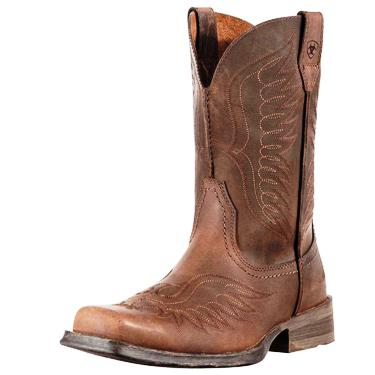 10010944 Men's Ariat Rambler Phoenix Roper Cowboy Boot