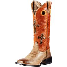 10011899 Women's Ariat Ranchero Roper Cowboy Boot