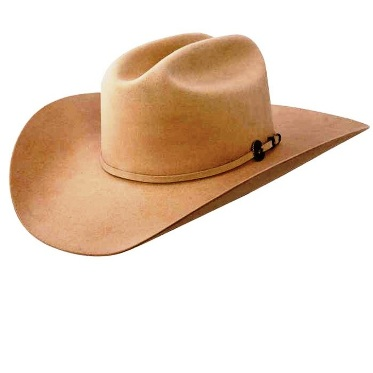 Resistol 4X Ranch Tan Low Crown Remuda Cowboy Hat