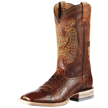 10010954 Men's Ariat Rooster Tail Roper Cowboy Boot
