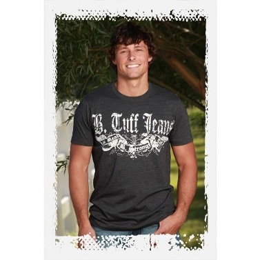 S00153 Men's B Tuff Grey T Shirt