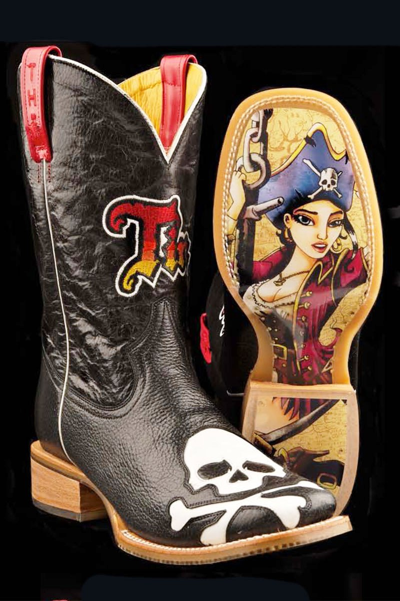 Awesome Tin Haul Ladies39 Gnarly Shark Boots  Fort Brands