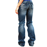 "C01-BLVCTY Women's Cowgirl Tuff ""Blue Victory"" Jeans"