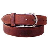X5409 Men's Silver Creek Bark Classic Westen Belt (Large Sizes)